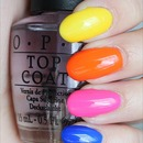 OPI Neon Revolution Mini Set Colours (All 4)