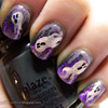 Haunting ghosts nails