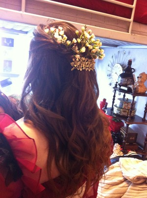 Hair by Chelsea Reeds for the film A Maiden in the Woods, directed by Alex Dixon.