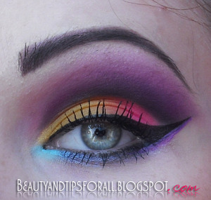 Another colorful look inspired by summer