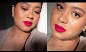 Monochromatic Pink Makeup look for Morena Skin