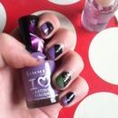 Stripy nails
