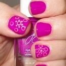 Hindi Tattoo Inspired Nails