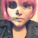 half doll half skull