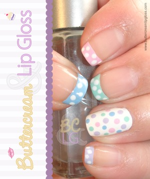 Easter Manicure http://buttercreamlipgloss.com/post/20091643626/easter-manicure-lately-ive-been-just-a-tad-bit