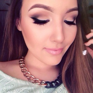 Should I film a tutorial on my YouTube channel? (Amanda Ensing) lashes are Esqido BFF