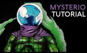 Mysterio | Comic Book Style Body Paint Tutorial