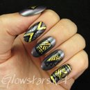 Gold foils and striped patterns