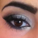 Silver Smoky Eye