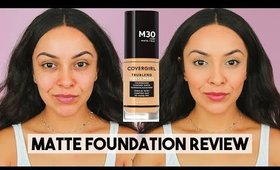 NEW COVERGIRL TRUBLEND MATTE MADE FOUNDATION FIRST IMPRESSION - TrinaDuhra