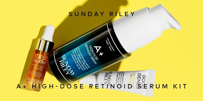 Shop Sunday Riley's A+ High Dose Retinoid Serum Limited Edition Kit on Beautylish.com