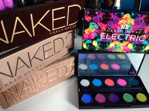 Naked Palettes and Electric Palette