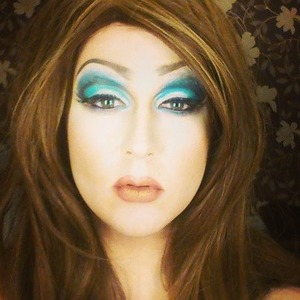 A trial for a drag look.