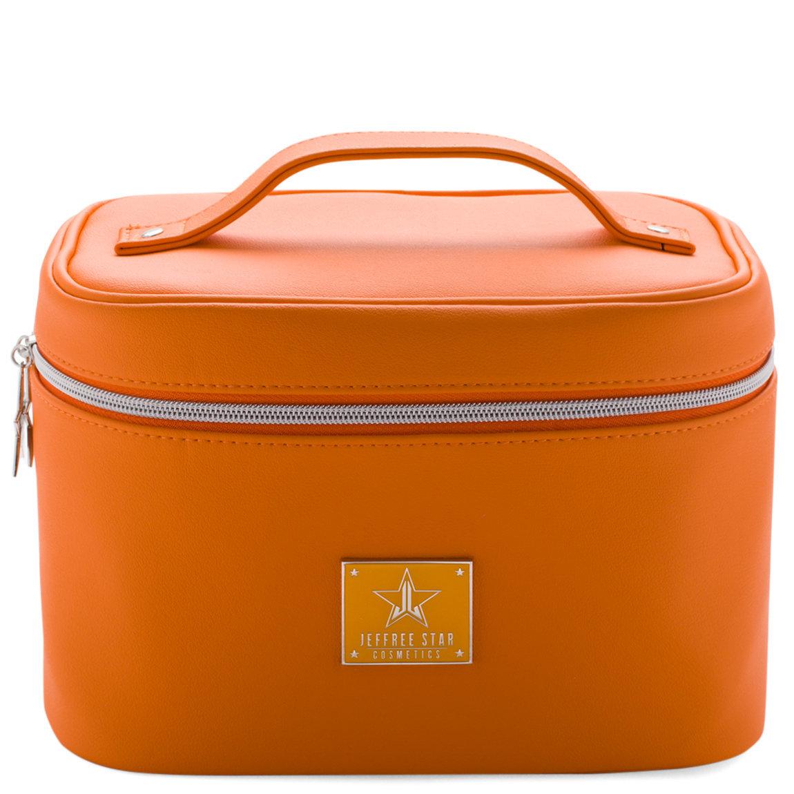 Jeffree Star Cosmetics Travel Makeup Bag Orange product smear.