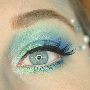 http://onepolishedmomma.blogspot.com/2015/10/mermaid-halloween-makeup.html?m=1