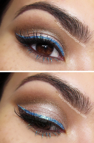 details & products: http://www.maryammaquillage.com/2012/12/metals-shimmers-sparkles.html