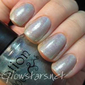 To read the blog post including more pics, a review of the polish and layering options visit http://glowstars.net/lacquer-obsession/2015/01/saturday-swatch-nailnation-3000-lukene-ice-sky/