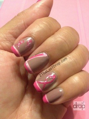 Breast Cancer Support! Join the cause: http://2thelastdrop.com/support-with-pink-polish/