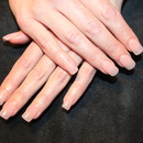 Natural look gel nail extencions