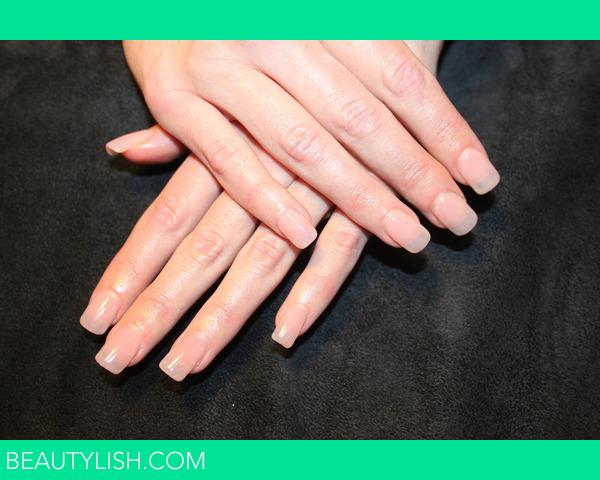 Natural Looking Gel Manicure
