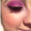 pink purple wing'd liner