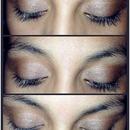 Soft Smokey eye with browns