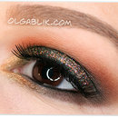 Glitter Smoky Eye Makeup