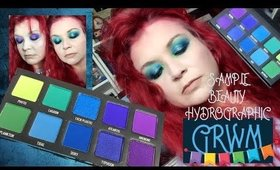 Sample Beauty Hydrographic Palette GRWM