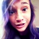 Purple hair!!!:)