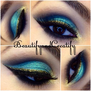 When i posted this on instagram, people said it looks like princess Jasmine inspired look