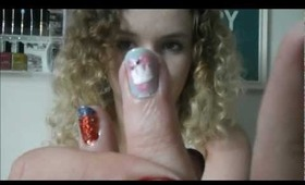 Diamond Jubilee inspired nail tutorial