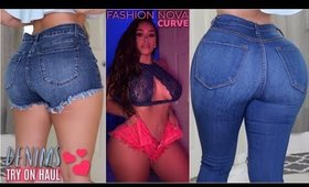 DENIM STYLES FOR THICK GIRLS feat. Fashion Nova Curve | MISSSPERU