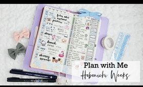 Hobonichi Weeks | Plan With Me feat. Stickers & Doodles (Memory Plan)