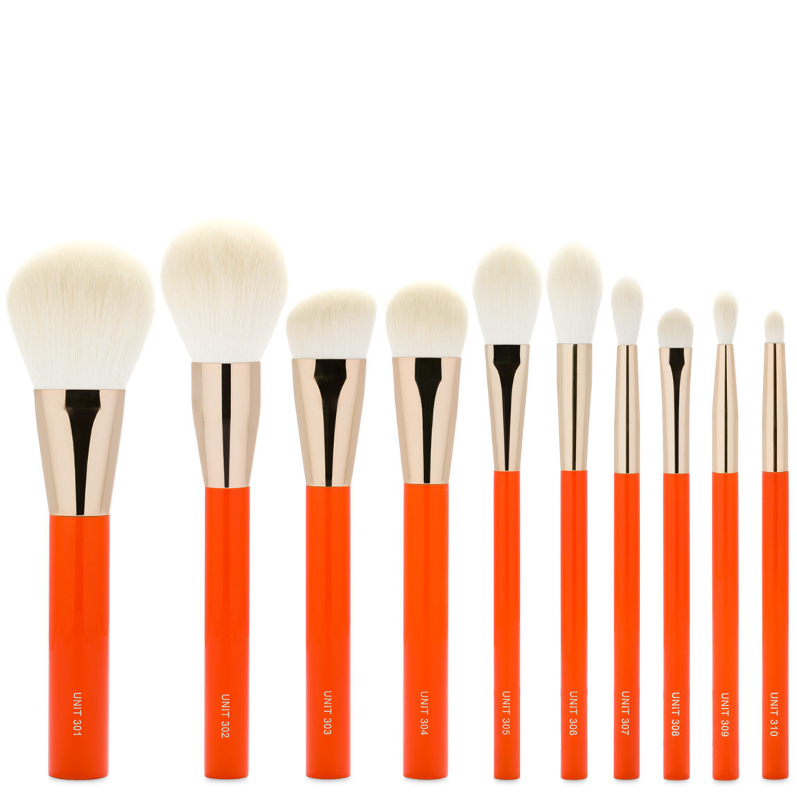 UNITS Orange Series Brush Set alternative view 1 - product swatch.