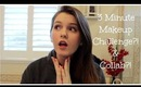 3 Minute Makeup Challenge! | Collab with iFashioniBeauty |