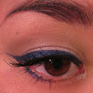 blue winged liner for montreal canadiens. tutorial on my youtube!