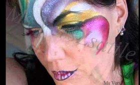 MissChievous' Cirque du soleil inspired Make Up Look