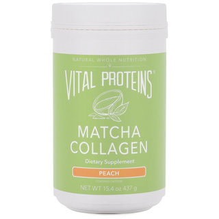 Matcha Collagen - Peach