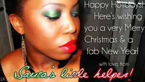 Merry Christmas & Happy New Year to you all at Beautylish! Thanks for following me! xoxo