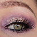 Purple/golden gradient