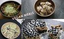 WHAT I EAT | Vegan Meal Ideas | easyneon