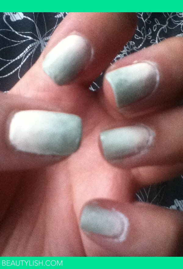 Light Pink And Gray Ombr 233 Nails Sarah A S Photo
