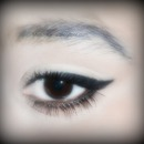 Cat effect eye liner