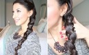 Edgy, Trendy Side Braid