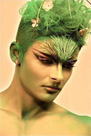 Makeup Artist: Andra Avram Model: Sandu Mihai