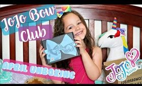 JOJO BOW CLUB - April Unboxing with Marin | Briddy Nicole