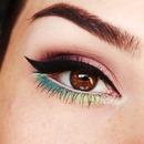 Spring inspired makeup