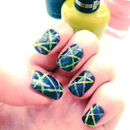 Neon Laser Nails