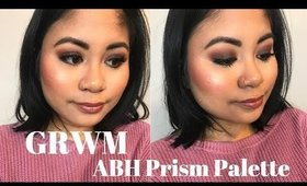GRWM: ABH Prism Palette and Affordable Face | Victoria Briana
