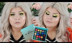 Lime Green Makeup Look Feat Norvina Vol 2 + Swatches